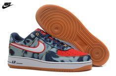 best service 3c1e1 e8080 Mens Nike Air Force One Low 07 Denim