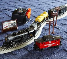 Lionel Pennsylvania Flyer O-Gauge Train Set #pbkids