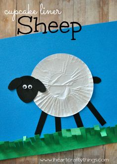 Chinese New Year is coming up on February 19th and it is the year of the Sheep. What a great opportunity to make a sheep craft, right?! We relied on our trusty cupcake liners and put together this simple Cupcake Liner Sheep Craft that kids are sure to enjoy. Look for a fun sheep book …