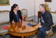 La Cour Royale Suedoise: la Princesse Heritiere en audience comme ambassadrice du