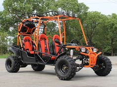 We have orange and red available in store.  We have a huge selection of ATVs, Scooters, Motorcycles, Gokarts, and Kids ride-on with the latest styles and best quality in store. And we do wholesale for more than 15 years. Welcome Houston local dealers. Thank your support. We will match the internet price.  Visit us at 7110 Harwin Drive, Houston, TX 77036.  For detailed information call 713-532-0505. Kids Ride On, Engine Types, School Colors, Go Kart, Atv, Latest Fashion, Monster Trucks, Latest Styles, Shopping