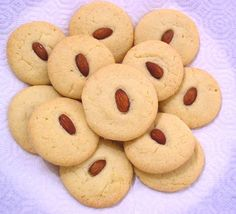 Treat a Week Recipes: Chinese Almond Cookies Recipe