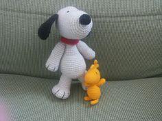 Amigurumi Snoopy Woodstock
