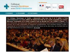 Colloque Industries du Numérique et de la santé - COMEARTH