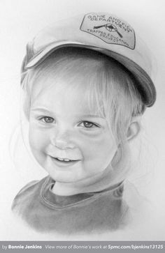 A graphite pencil drawing by Bonnie Jenkins. See more at www.5pmc.com