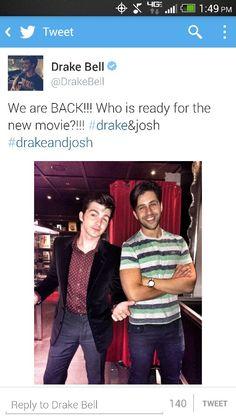 omg,i used to LOVE drake and josh!!! YASSS