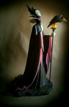 Maleficent and Raven Big Fig; by Jody Daily & Kevin Kidney, on Flickr.com.