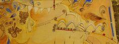 Festivities | Painting | Artist : Kaite Helps | www.kaitehelps.co.uk