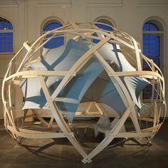 "Instagram 上的 Jo Anna Nedergaard:「 Wood construction at @kadkdk ""Circular Economy Exhibition "". . . . . #kadk #woodconstruction #architecture #exhibition #danishdesign… 」"