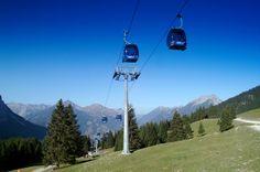 Ehrwalder Almbahn: Aktivurlaub auf der Ehrwalder Alm  Die 8-Personen-Kabinenbahn der Ehrwalder Almbahn bringt Sie bequem und schnell zur Bergstation der Ehrwalder Alm auf 1.500 Metern Seehöhe. Dort erwartet Sie bereits ein abwechslungsreiches Sport- und Aktivprogramm. Ein schönes Familienskigebiet mit 8 Liftanlagen, 26,5 bestens präparierte Pistenkilometer, ein Snowpark, 15 Kilometer Langlaufloipen sowie eine Nachtrodelbahn und zahlreiche Winterwanderwege begeistern im Winter ebenso wie die vielen Almhütten, Wanderwege und Mountainbikerouten im Sommer. Freuen Sie sich auf sportliche Stunden auf der Ehrwalder Alm und genießen Sie die traumhafte Natur der Tiroler Zugspitzarena. Austria, Mountains, Sport, Nature, Travel, Zugspitze, Hiking Trails, Hiking, Vacation