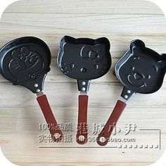 1 pcs.Cute Kitty Cartoon Mini Non-Stick Breakfast Omelette Pan Pancake – Save Major