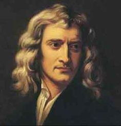Isaac Newton was a great physicist and mathematician. he made the basic rules of gravity.