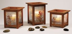 Arts and Crafts Mission Candle Lantern Woodworking Plan, Gift Project Plan | WOOD Store
