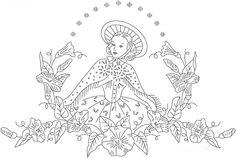 Pillowcase embroidery Pattern