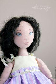 Коллекционные куклы ручной работы. Марина - авторская текстильная кукла. Балябина Анна (Текстильные куклы). Интернет-магазин Ярмарка Мастеров.