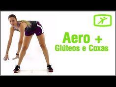 Aula de Ginástica Aeróbica para Glúteos e Coxas #1 - Exercício em Casa - YouTube