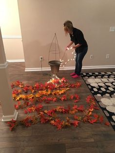 easy but fun diy decorative tree Looking for a versatile and budget friendly decor idea that won't break the bank? Give your home decor a fall or christmas makeover with this fabulous diy trick. Fall Home Decor, Autumn Home, Dyi Fall Decor, Fal Decor, Fall Decor Outdoor, Diy Fall Crafts, Diy Autumn, Felt Crafts, Diy Décoration