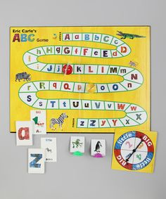 University Games Eric Carle's ABC Game