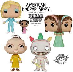 Funko Pop! TV Series American Horror Story Freakshow AHS Set of 4 Vinyl Figures