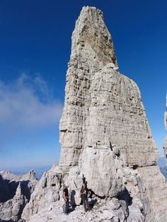 """Cuspide - Campanil Basso""  Dolomites - Trentino  http://www.visittrentino.it/it/outdoor"