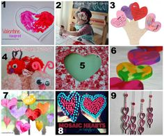 9 Kid Friendly Valentines Day Crafts