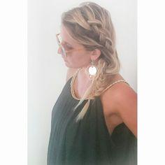 Boheme.   #boheme#hair#braid#hippie#leschignonsdejo
