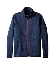 275b1812b456 ONeill Boys Jack Fleece Jacket Ink Blue Size 12 -- Be sure to check out  this awesome product. (This is an affiliate link)