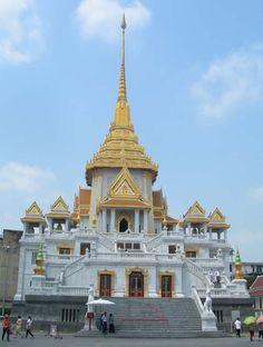 Wat Trimitr Gold Buddha in Bangkok, Thailand