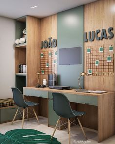 Study Room Design, Baby Room Design, Baby Room Decor, Bedroom Decor, Bunk Bed Designs, Girl Bedroom Designs, Kids Bedroom, Home Office Design, Home Office Decor