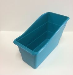 ***Wavy Book Box - Turquoise Teal