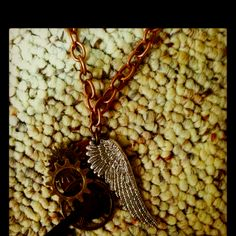 Steampunk necklace inspired by The Clockwork Angel by Cassandra Clare.