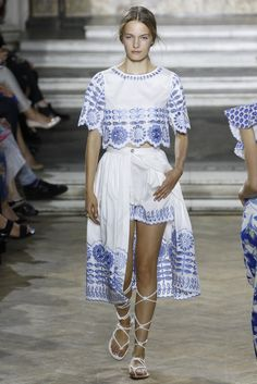 TEMPERLEY LONDON 2016 SS LONDON COLLECTION 10