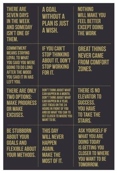 Great motivational quotes to throw into your bullet journal or put on your office wall.