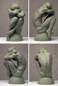 Adam by EricMichaelWilson Figure Reference, Body Reference, Anatomy Reference, Design Reference, Art Reference, Human Sculpture, Sculptures Céramiques, Sculpture Clay, Anatomy Drawing