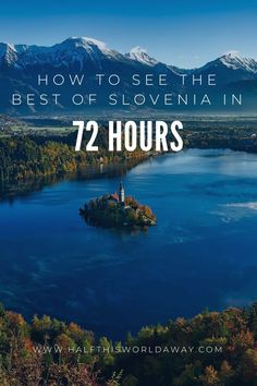 How To See The Best of Slovenia in 72 Hours. : How to see the best places in Slovenia in 72 hours! A guide to road trip Slovenia. Visit Slovenia, Slovenia Travel, Slovenia Tourism, Europe Travel Guide, Travel Guides, Travel Destinations, Travelling Europe, Traveling, European Road Trip
