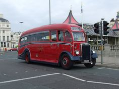 https://flic.kr/p/82eMXt | Leyland Halfcab bus | Leyland half cab bus London to Brighton classiuc commercial run 2008