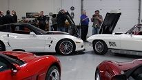 Happiness is getting to visit the Lingenfelter Collection Museum and see all the great cars and Corvettes! This shot was taken during the 2010 Corvette Dream Giveaway award ceremony.  CDG6