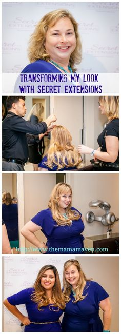 Transform Your Look with Secret Extensions #beauty #hair