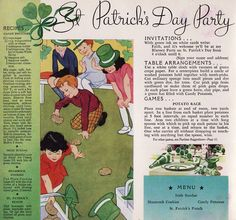 Harvested from The Children's Party Book published by the A.E. Staley Mfg. Co. 1935