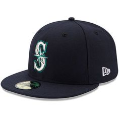 Seattle Mariners New Era Authentic Collection On Field 59FIFTY Fitted Hat - Navy - $34.99