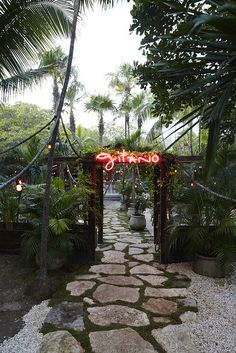 Gitano Restaurant, Tulum, Mexico. via La Buena Vida