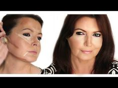 Contouring and Highlighting Mature Face Shape - http://bit.ly/1LdKAmM
