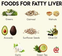#FattyLiver #diet #loseweight 8 Fatty Liver Diet, Liver Disease, Detox Your Body, Avocado, Seeds, Lose Weight, Easy Detox, Treats, Fruit