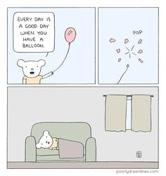 Poorly Drawn Lines: Balloon #webcomics