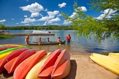 After exploring the hill country trails, paddle your way around Inks Lake State Park near Austin. Be sure to check out the Devil's Waterhole.