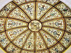 Custom dome by Art Glass By Wells. http://www.artglassbywells.com/