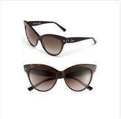 Dior Cat Eye Sunglasses #summer #sunglasses #cat eye