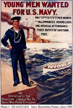 Recruiting poster, 1909