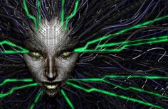 SHODAN from System Shock 2 -- One of the greatest villains of video game history, and the role model of all psychotic AIs.