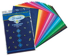 """Pacon Spectra(R) Assorted Color Tissue Pack, 12"""" x 18"""", 2..."""
